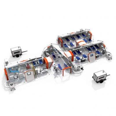 Spitale modulare